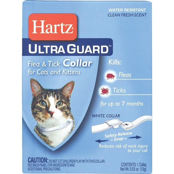 Hartz UltraGuard Flea & Tick Cat and Kitten Collar