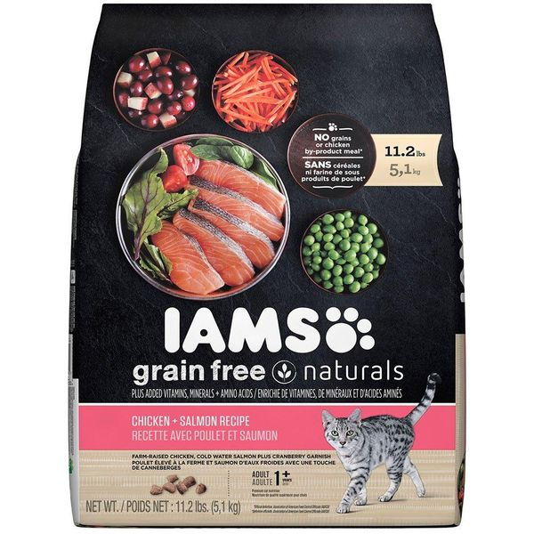 IAMS Grain Free Naturals Adult Dry Cat Food