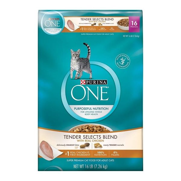 Iams Or Purina One Cat Food