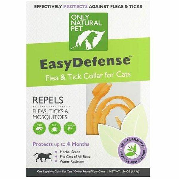 Only Natural Pet Easy Defense Flea & Tick Cat Collar