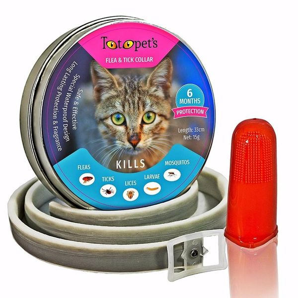 Totopet's Pet Flea and Tick Collar for Cats and Kittens