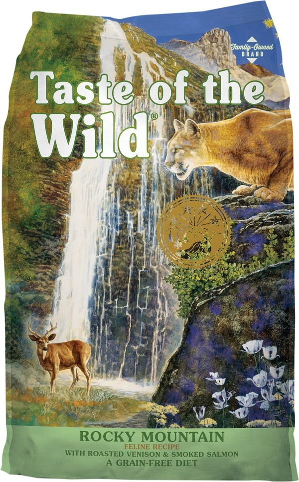 Taste of The Wild Grain Free High Protein Natural Dry Cat Food