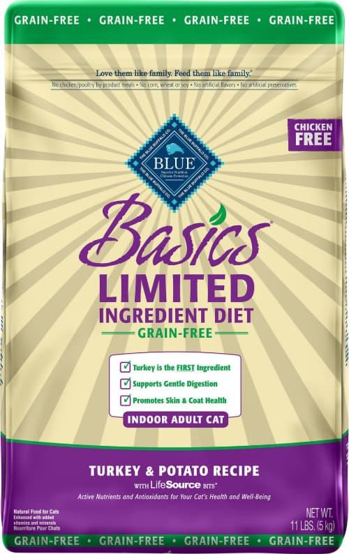 Blue Buffalo Basics LID Turkey & Potato Indoor Mature Recipe