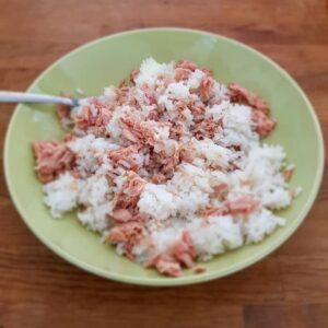 Recipe with Tuna and Rice