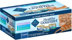 Blue Buffalo Wet Cat Food Healthy Gourmet Variety Pack