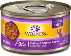 Wellness Complete Health Turkey & Salmon Formula Grain-Free Canned Cat Food