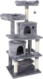 57.1 Inches Multi-Level Cat Tree Tower