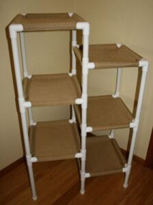 PVC Frame 7 Tier Cat Tree