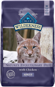 Blue Buffalo Wilderness High Protein Dry Cat Food - Best cat food for older cats