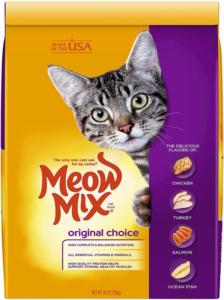 Meow Mix Original Choice Dry Cat Food - Best cheap cat food